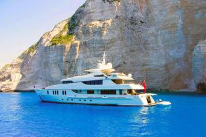 Amphialos boat trip Pafos Cyprus