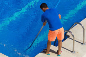 Amphialos swimming pool cleaning and maintenance Pafos Cyprus